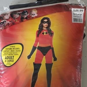 Mrs Incredible costume